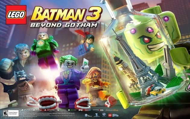 Lego Batman 3: Beyond Gotham Cheats
