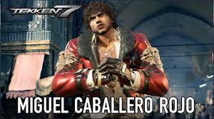 TEKKEN 7 Miguel Caballero Rojo Moves Guide