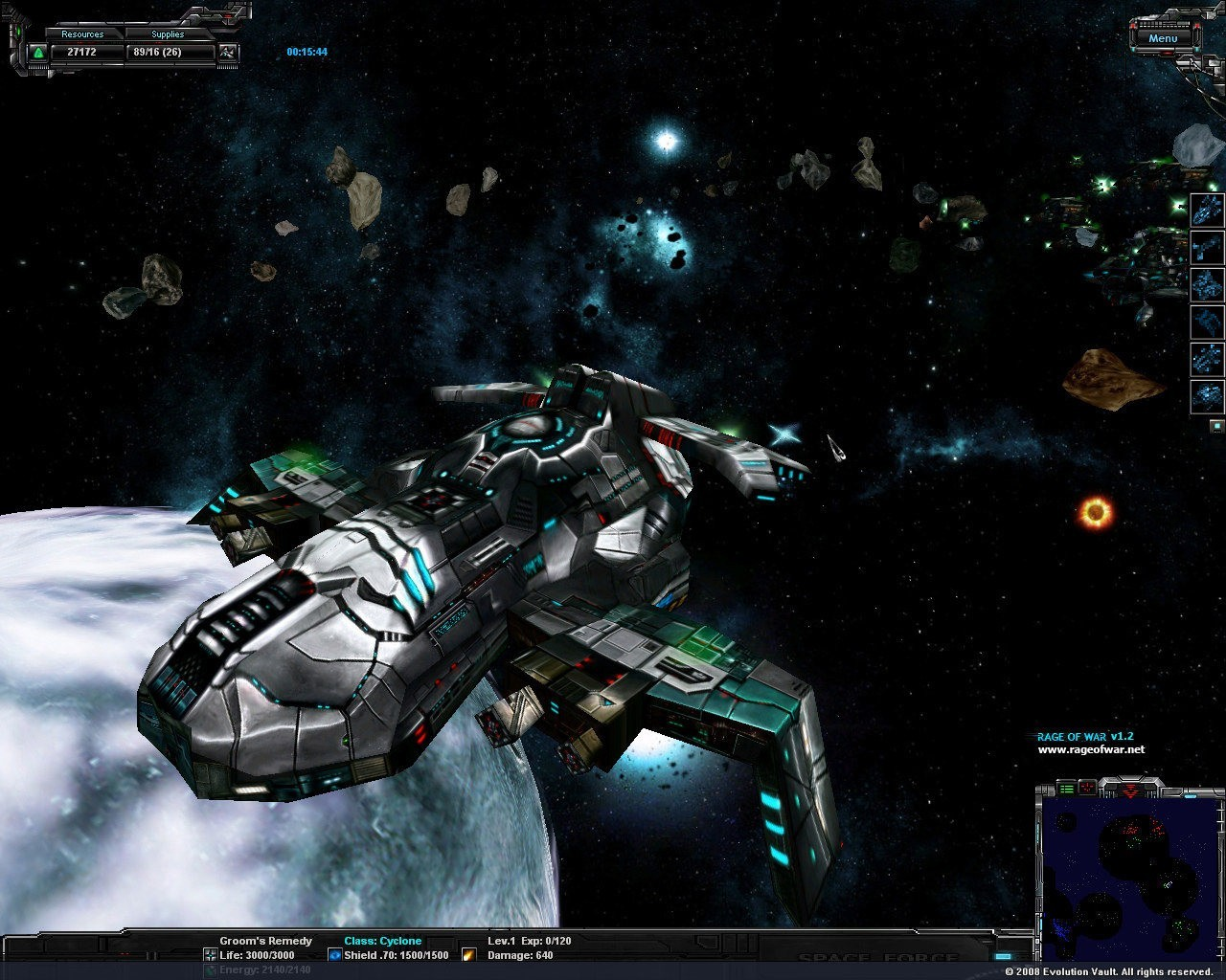 Galactic Dream: Rage of War Cheats
