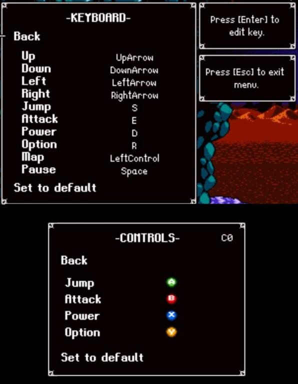 Astalon Tears Of The Earth Keyboard Controls