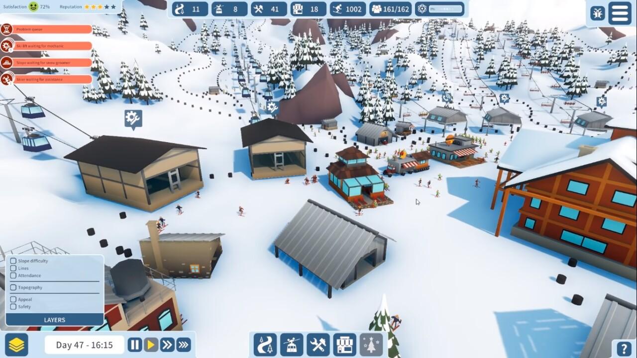 Snowtopia Ski Resort Tycoon SCREENSHOT 001